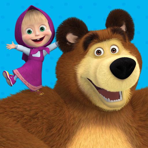 Masha The Bear S App All Videos And Games Aplikasi Di Google Play
