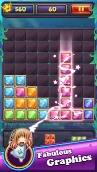Gems Block Puzzle Jewels: hexa Mania Free games apk screenshot