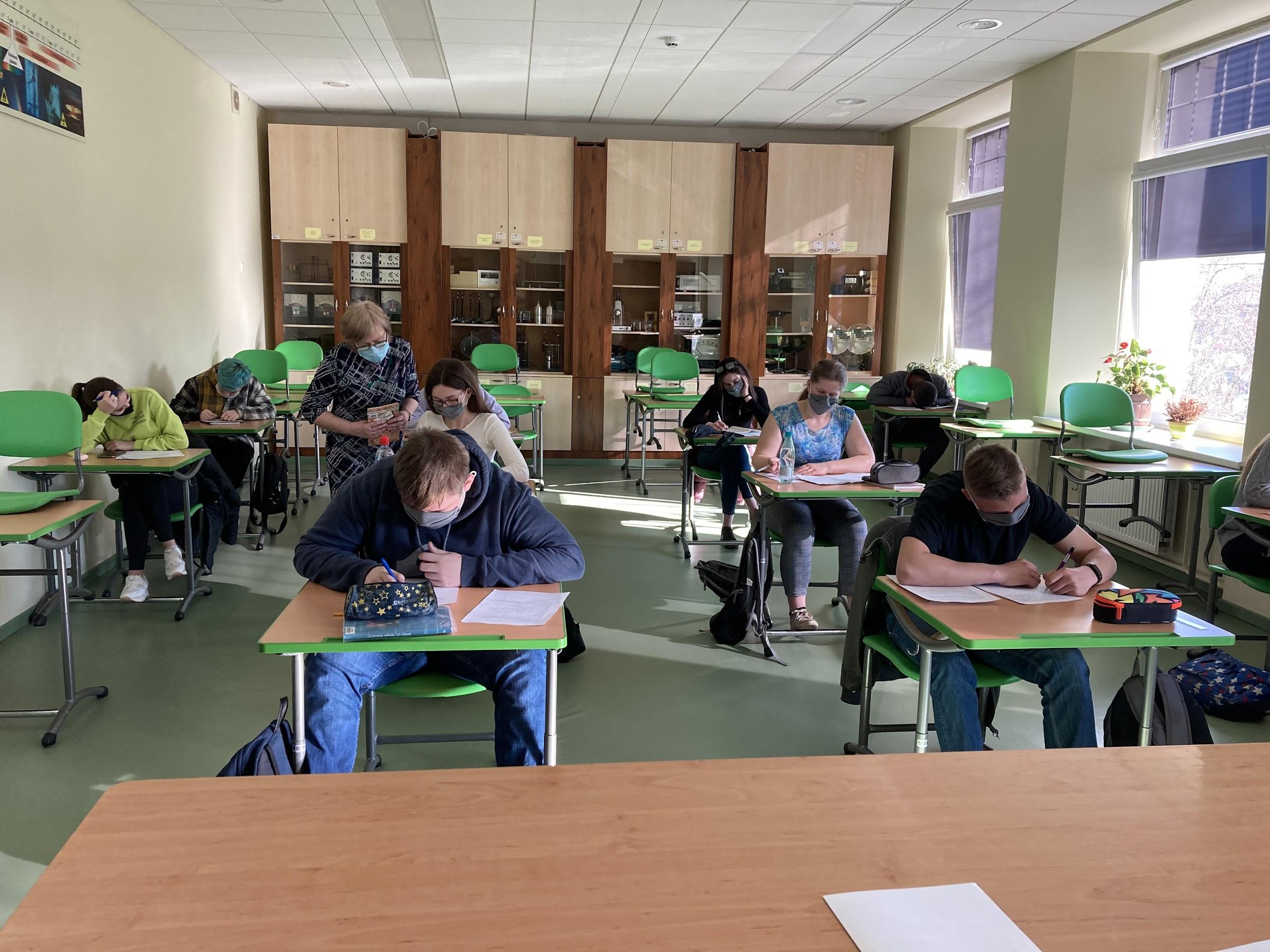12.b klases mācību telpa -  fizikas kabinets