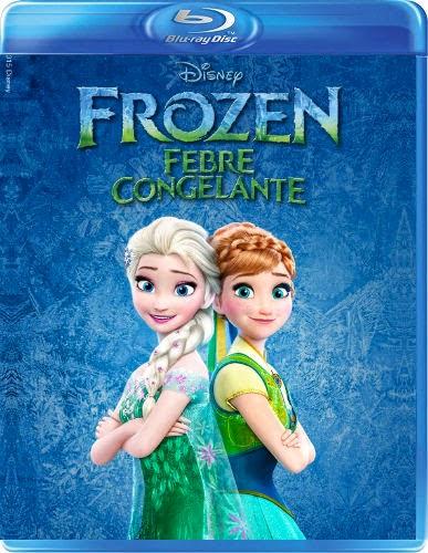 Filme Poster Frozen: Febre Congelante BDRip XviD Dual Audio & RMVB Dublado ou Legendado
