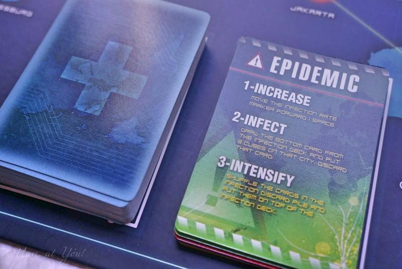 Epidemic cards drawn