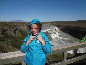Photo: The Gullfoss waterfall was our next stop