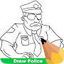 How To Draw Police APK icon