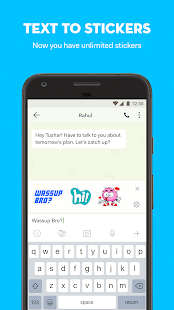 hike messenger: Stickers, Hidden Chat, Timeline Screenshot