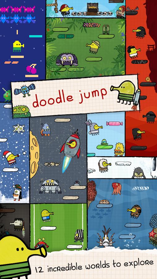 Download Doodle Jump MOD (Coins/Unlocked) Apk v for Android