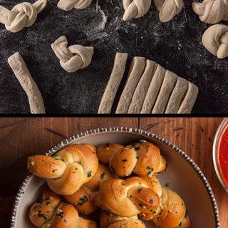 Garlic Knots With Pizza Dough Recipes.