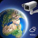 Earth Cam Online: Live webcam, camview & Beach cam icon