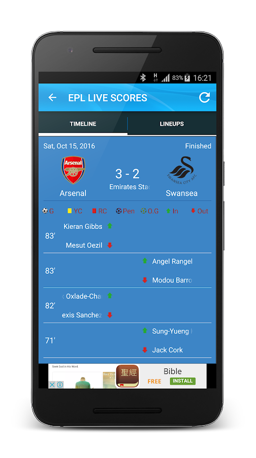 Epl Live Score Now