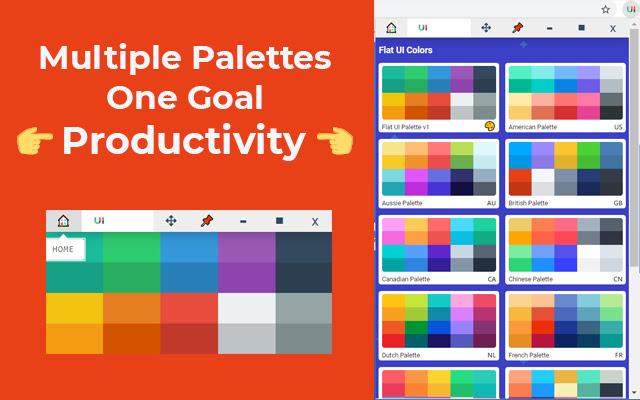 Flat UI Colors Palette Extension