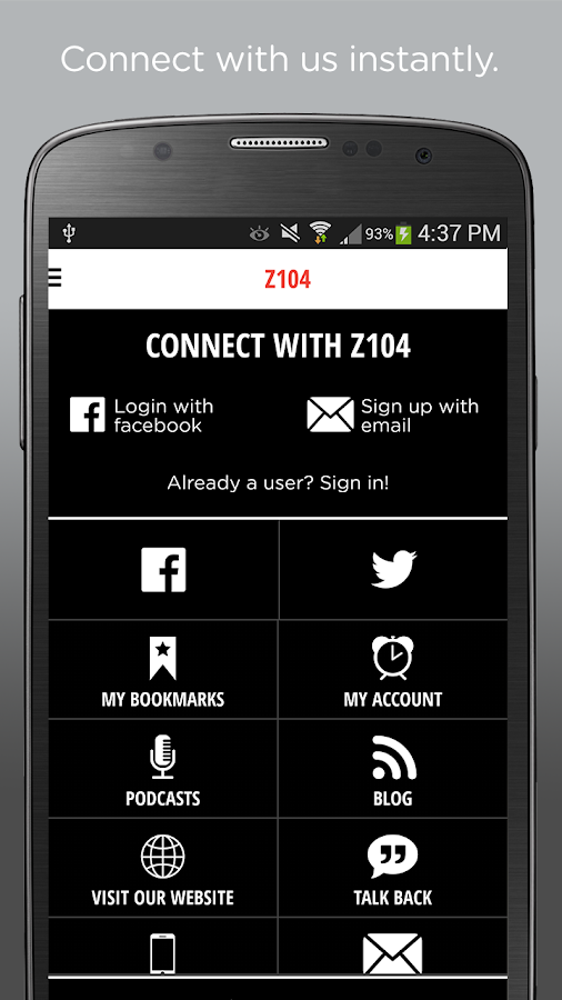 104.5 Z104 All The Hits- screenshot