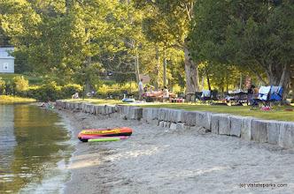 Photo: Crystal Lake Beach area