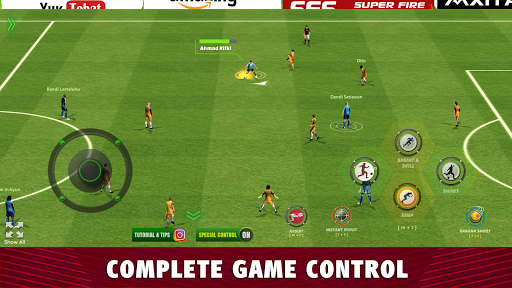 Super Fire Soccer Indonesia 2020: Liga & Turnamen apkpoly screenshots 1