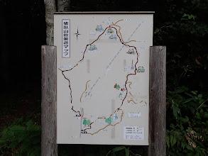 猪臥山散策道マップ(時計回りで)