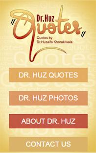 Dr. Huz Quotes screenshot