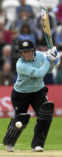 Ton up: Lizelle Lee of Surrey Stars hits out in the final. Picture: MIKE HEWITT/GETTY IMAGES