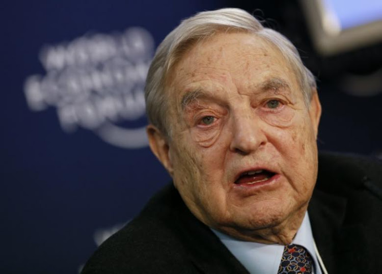 George Soros, Chairman of Soros Fund Management. REUTERS/Pascal Lauener