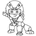 VIR the robot boy game VIR the robot boy wala game icon