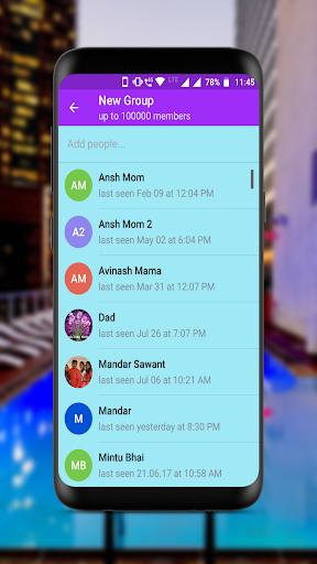 New Messenger 2019 5.1.2 screenshots 5