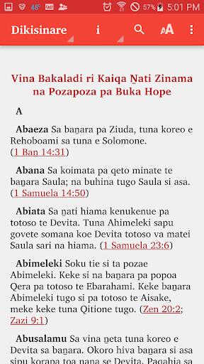 Roviana Bible  screenshots 7