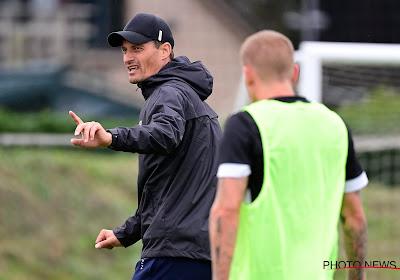 """Oostende-coach Blessin tempert verwachtingen: """"Nog vier-vijf speeldagen nodig voor we klaar zijn"""""""