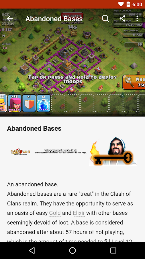 FANDOM for: Clash of Clans- screenshot