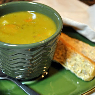 Smoky Vegan Split Pea Soup