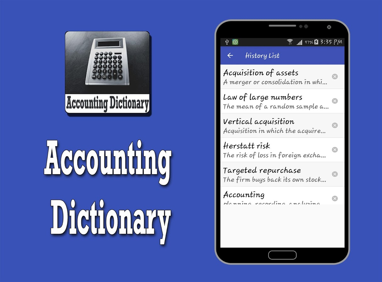 accounting definitions If you want to start a business, get better at running your business, or get an accounting job, you need to know some essential financial accounting terms and.