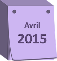 agenda avril 2015