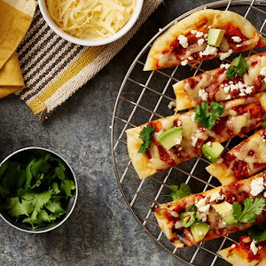 Spicy Beef and Chorizo Grilled Pizza