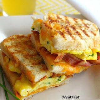 Breakfast Paninis.