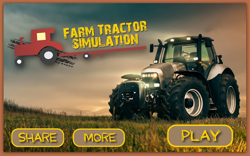 Farm Tractor Simulation Game