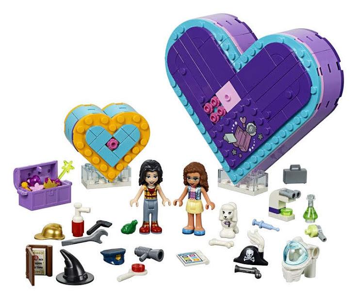 Contenido de Lego® 41359 Pack de la Amistad: Caja Corazón