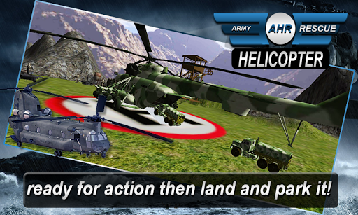 Army Helicopter - Rescue Cargo