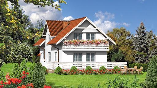 projekt Dom przy Koniczynek