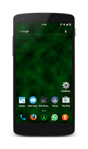 Dark Green CM 12 Theme