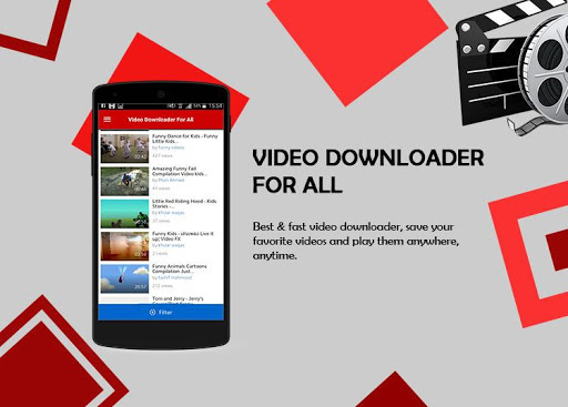 Video Downloader For All 1.1 screenshots 1