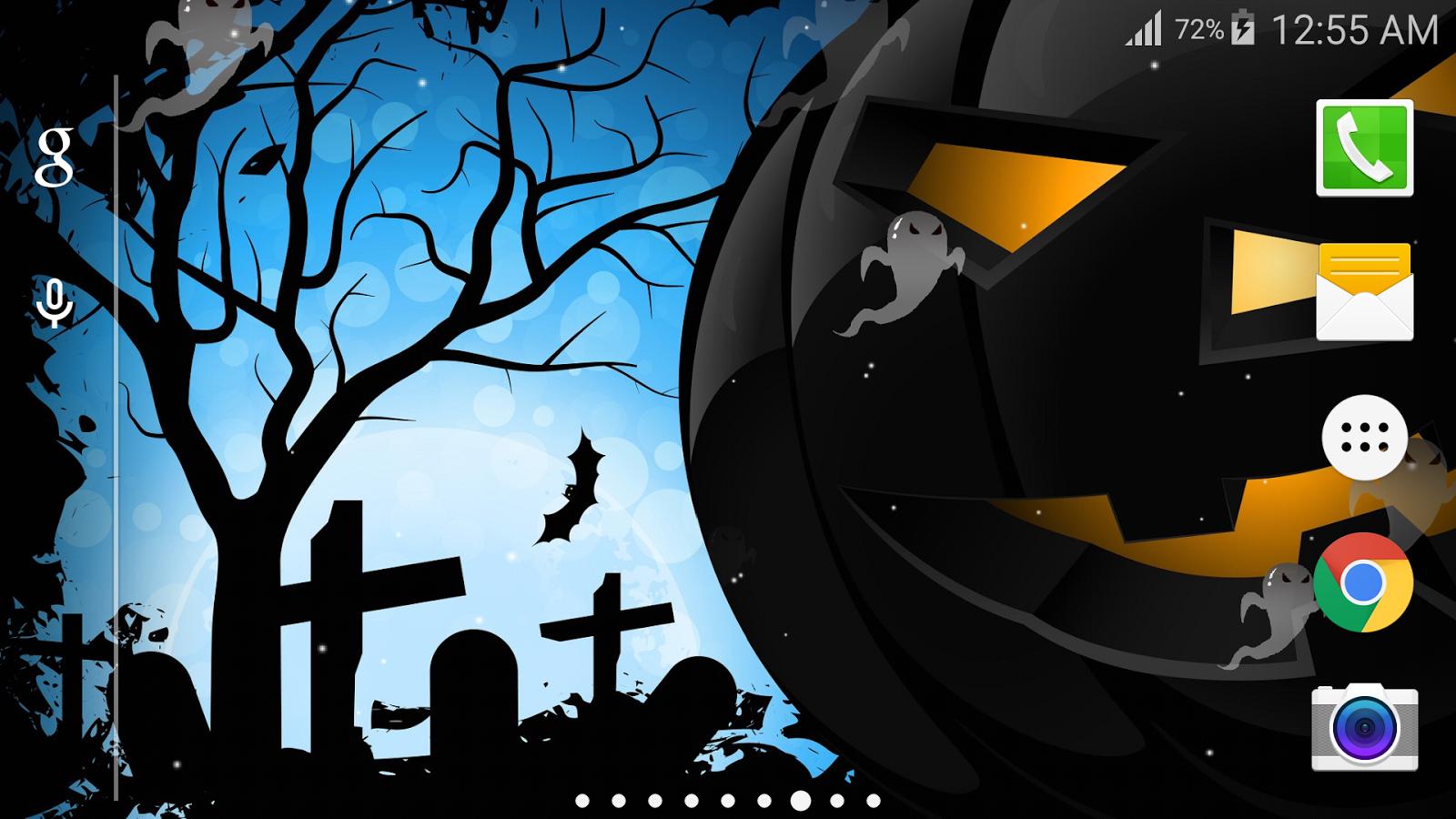 halloween party live wallpaper screenshot - Halloween Party Wallpaper