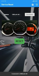 Dacia Service Reset Screenshot