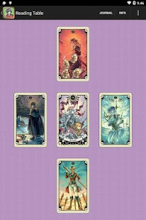 Mystical Manga Tarot Screenshot