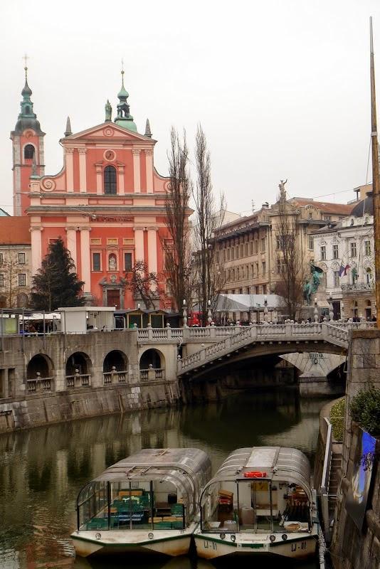 Любляну называют южным Амстердамом