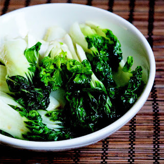 Stir-Fried Sesame Baby Bok Choy