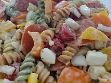 Italian Garden Pepperoni Pasta Salad