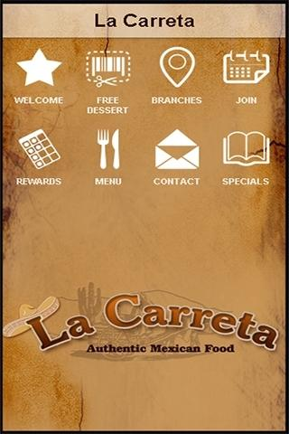 android La Carreta Mexican Restaurant Screenshot 1