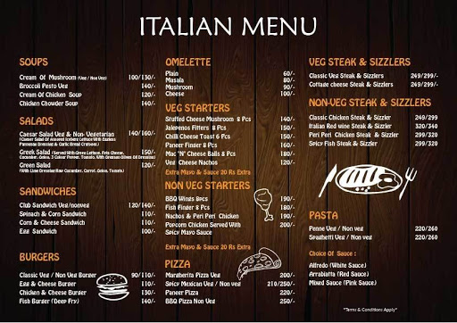 D View Cafe menu 3