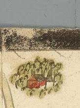 """Photo: Bron: Nationaal Archief, Collectie Hingman, kaart van de grensscheiding tussen Noordwijk en Noordwijkerhout, Floris Jacobz, oktober 1599   Detail van de kaart met rechtsboven aan de """"Langevelderlaen"""" de boerderij, op welke locatie nu het restaurant """"Langs Berg en Dal"""" is gelegen  http://www.gahetna.nl/collectie/afbeeldingen/kaartencollectie/zoeken/weergave/detail/tstart/0/q/zoekterm/noordwijk/q/commentaar/1"""