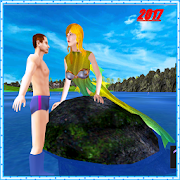 Hungry Mermaid Simulator Sea