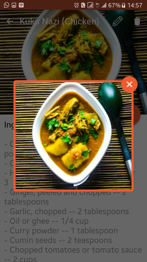 Murugi Food & Drink Recipes- screenshot