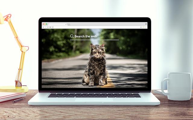Pet Sematary New Tab Theme