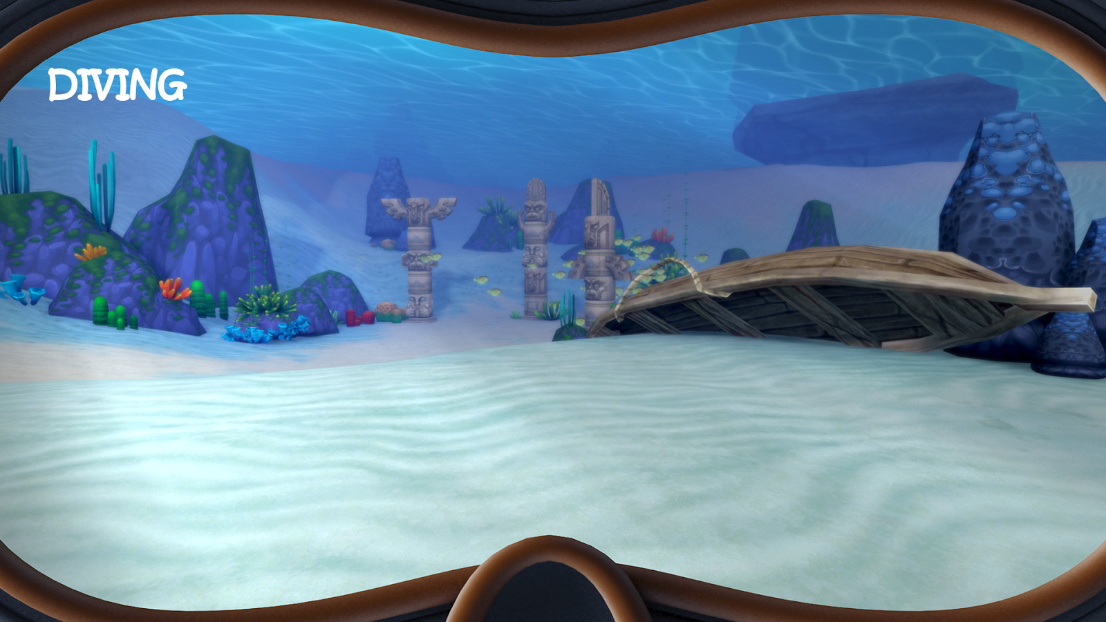 Amusement Island VR Cardboard- screenshot