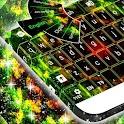 Abstrakt Kaleidoskop Keyboard icon